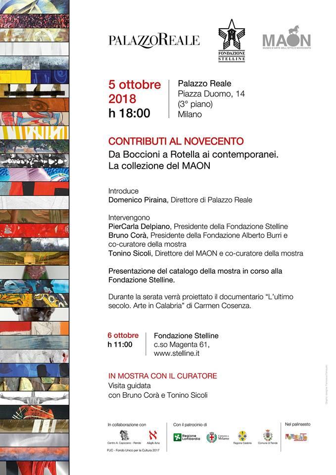 invito presentazione catalogo fondazione stelline berlingeri